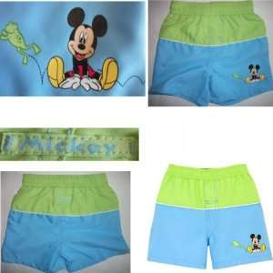 DISNEY MICKEY MOUSE SWIM TRUNKS SWIMWEAR INFANT BOYS
