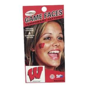 Logo Game Face Temporary Tattoos: Sports & Outdoors