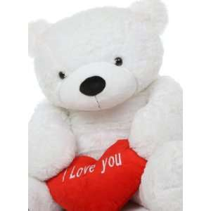 Heart Valentines Day Big Plush Teddy Bear by Giant Teddy Toys & Games