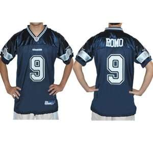 Tony Romo #9 Dallas Cowboys 2009 NFL jersey. FULLY EMBROIDERED Name