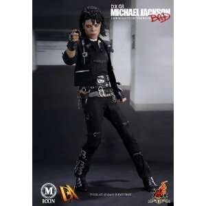 Hot Toys 12 Michael Jackson Bad Version Action Figure  Toys