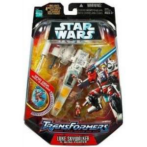 Hasbro Star Wars Transformers   Luke and X Wing Fighter