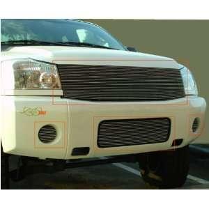 04 07 Nissan Titan Armada 1pc Upper + 1pc Bumper + 2pc Fog
