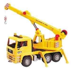 Bruder MAN Crane Truck Toys & Games