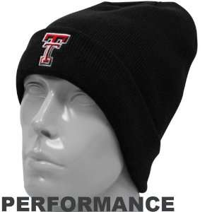 NCAA Under Armour Texas Tech Red Raiders Black Sideline Performance