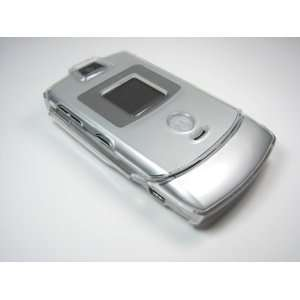 Carry Case Cover With 2 Clips + Home Wall Charger For Motorola Razr V3