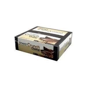 Power Crunch Choklat Milk Chocolate bar 12ct Health & Personal Care