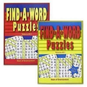 New   Puzzle Book 96 Pages Find A Word Case Pack 96