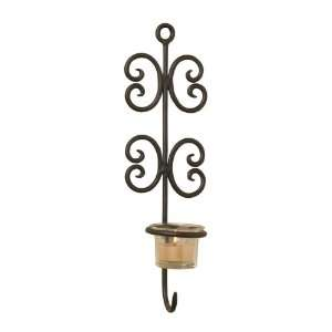 Home™ Multi Chain Wrought Iron Wall Sconce Patio, Lawn & Garden