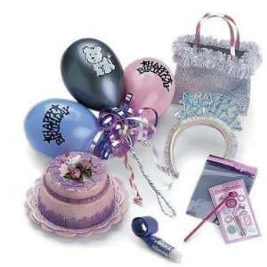 : Birthday Party Accessories for 18 American Girl Doll: Toys & Games