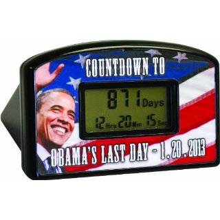 2012 Barack Obama Out of Office Countdown wall calendar Yes, The End