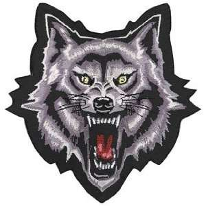 WOLF HEAD PATCH 4X4 3PK