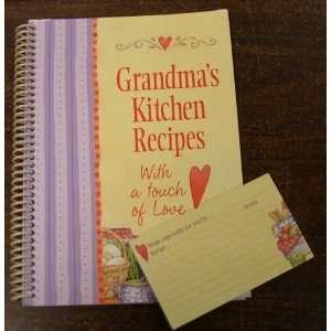Grandma's Kitchen Recipe Cards | Grandma S Kitchen Recipe Cards On Popscreen