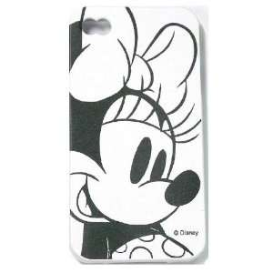 iPhone 4S / 4G / 4 Black and White Minnie Mouse Disney TPU