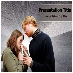 Physical abuse PowerPoint Template   Physical abuse PowerPoint (PPT