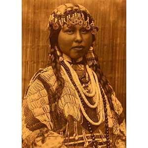 Wishham Bride Edward S.Curtis Native American Indian Art