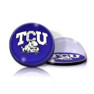 TCU University Athletic High Quality Crystal Magnet