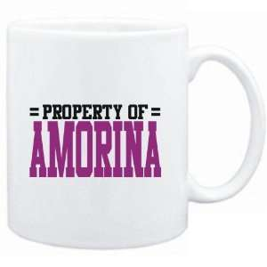 Mug White  Property of Amorina  Female Names