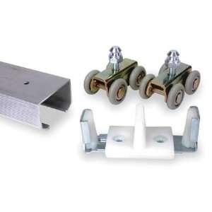 Door Track Kits Door Hanger Kit,Zinc,16 Wheels