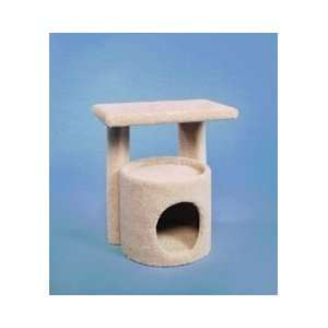Kitty Condo W/Perch Cat Furniture   19.25 X 13.75 X 20.5