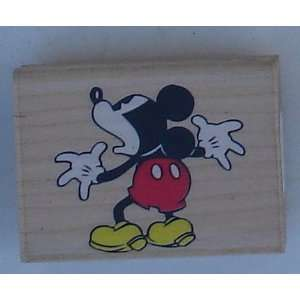 Out Wood Mounted Rubber Stamp (discontinued) From Rubber Stampede