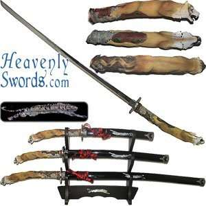 Japanese Tiger Sword Set