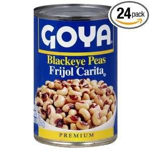 Goya Black Eye Peas, 15.5000 ounces (Pack of24)  Grocery