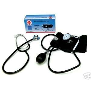Blood Pressure Kit with Dual Head Stethoscope: Office