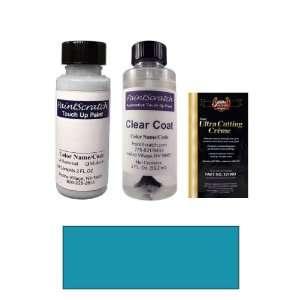 Oz. Caprice Blue Metallic Paint Bottle Kit for 1998 Isuzu Rodeo (836