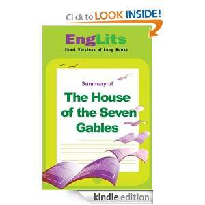 EngLits The House of the Seven Gables Jack Bernstein