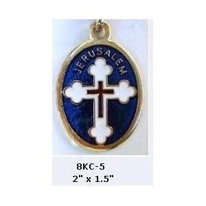 Stations of the Cross Key Chains, Gold