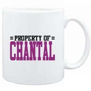 Mug White  Property of Chantal  Female Names