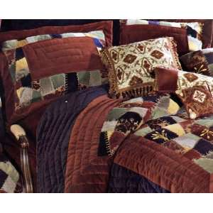 Harvest Crazy Full Queen Bed Quilt