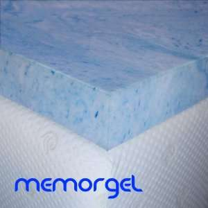 MemorGel Twin 3 inch Cooling Gel Foam Mattress Topper