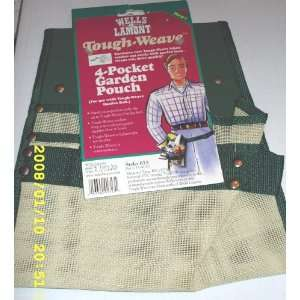 Lamont Tough weave 4 pocket Garden Pouch Lightweight, Durable, Water