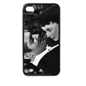 gone with the wind black iphone case for iphone 4 and 4s black