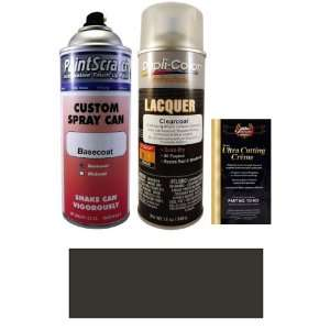 Oz. Dark Gray Metallic Spray Can Paint Kit for 2004 Ford Focus (4MRE