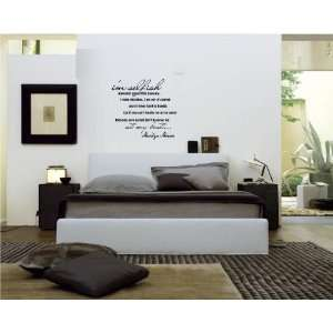 quotes and saying home decor decal sticker