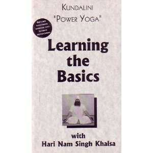 Power Yoga Learning the Basics with Hari Nam Singh Khalsa [VHS] 1995
