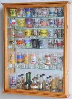 Shot Glass Shooter Display Case Cabinet Rack Holder