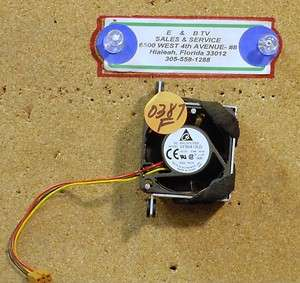 Dc Brushless FAN Model EFB0412LD DC12V .08A (0387F)