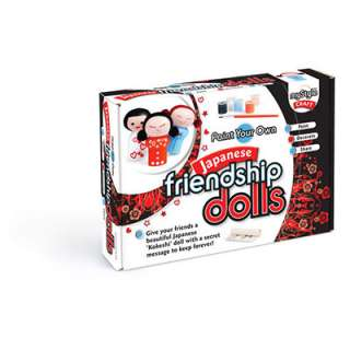 Japanese Friendship Dolls  Craft Kits  Crafts for Kids