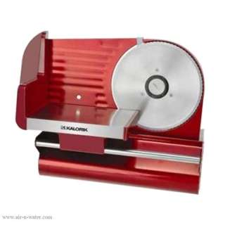 AS29091 Kalorik Red Electric Meat Slicer With Variable Thickness