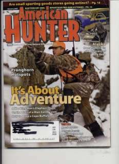 American Hunter Jan 2007 Mossberg 930 Bergara Barrels