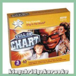 STTW Karaoke CDG CD+G Full On Chart Hits   3 Disc Set