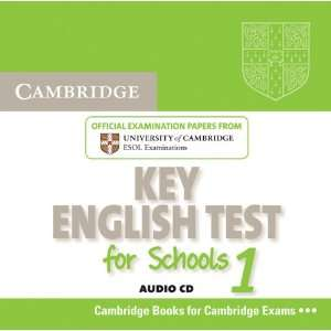 Key English Test for Schools 1 Audio CD: Official Examination