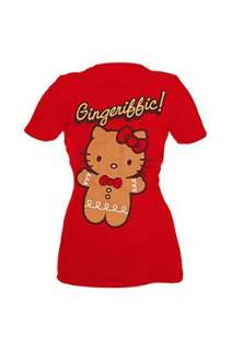 Hello Kitty Gingeriffic Girls T Shirt Plus Size   185327