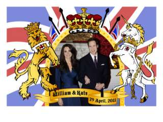 and Kate Middleton, The Royal Wedding April 29th, 2011 Premium Poster