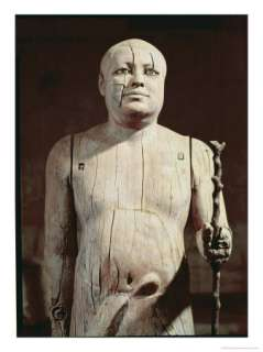 Statue of Ka Aper, Known as Sheikh El Beled, from His Mastaba Tomb in