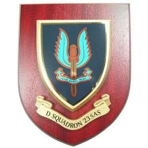 Squadron 23 SAS Special Air Service Wall / Mess Plaque
